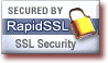 Transactions protected by RapidSSL